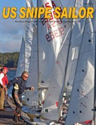 Winter 2011 - United States Snipe Sailing
