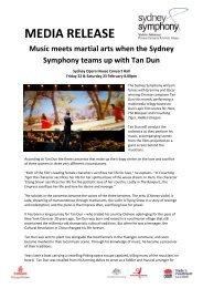 Download the Sydney Symphony performs Tan Dun's Martial