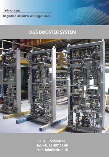 incl. DGS booster rack - felcon anlagenbau ag