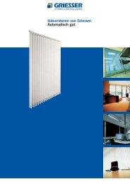 Steuerung Indoorstoren - Metallbau Pfister AG