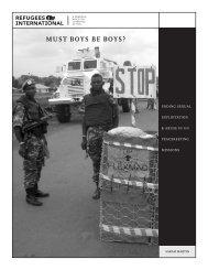 Must Boys Be Boys? Ending SEA in UN