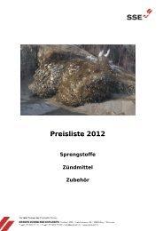 Lieferprogramm sowie Preisliste 2012 - Valsynthese