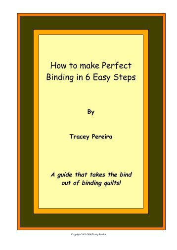 How to make Perfect Binding in 6 Easy Steps - Create