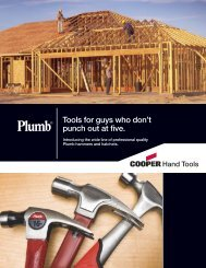 Tools for guys who don't punch out at five. - Apex Tool Group