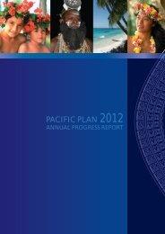 PACIFIC PLAN 2012 - Pacific Islands Forum Secretariat