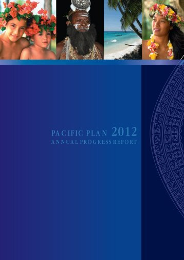 PACIFIC PLAN 2012 - Pacific Islands Forum Secretariat