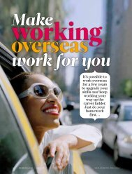 Make Work For You - Expertise in Labour Mobility