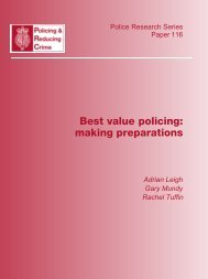 Best value policing: making preparations - National Police Library ...