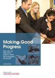 Making Good Progress - CfBT