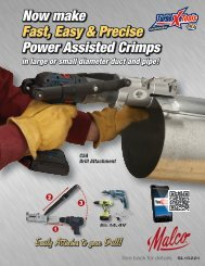 Now make Power Assisted Crimps Fast, Easy & Precise