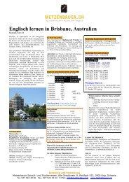 Englisch lernen in Brisbane, Australien