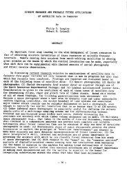 CURRENT RESEARCH AND PROBABLE FUTURE ... - marte:80