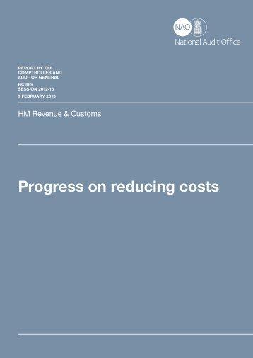 Executive summary (pdf - 84KB) - National Audit Office