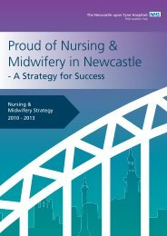 Proud of Nursing & Midwifery in Newcastle - Newcastle Hospitals