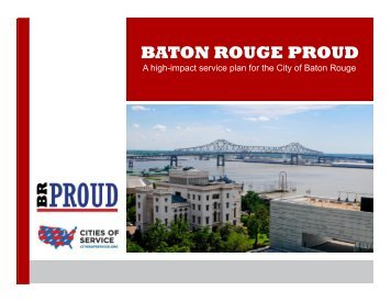 BATON ROUGE PROUD - Cities of Service