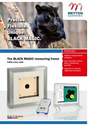 Precise. Flexible. Unique. Black Magic. - Meyton.info