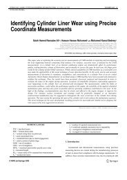 Identifying Cylinder Liner Wear using Precise Coordinate ...