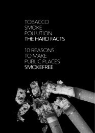 tobacco smoke pollution - Bookshop - Royal College of Physicians