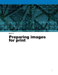 Preparing images for print - Adobe Photoshop for Photographers