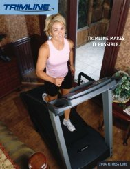 TRIMLINE MAKES IT POSSIBLE. - PhD Fitness