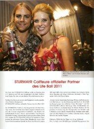 Juli 2011, Der Österreichische Friseur - Sturmayr
