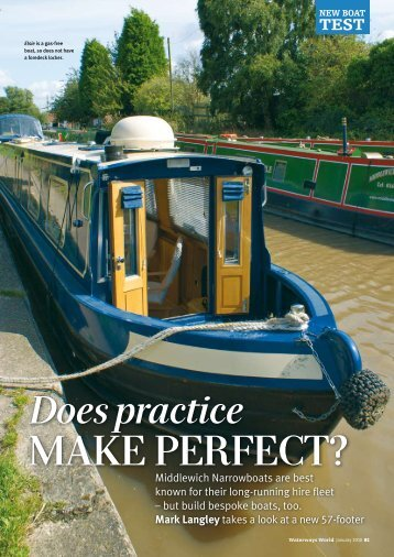 Does Practice Make Perfect? - Canal Boatbuilding at Middlewich ...