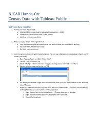 Census Data with Tableau Public - Tableau Software
