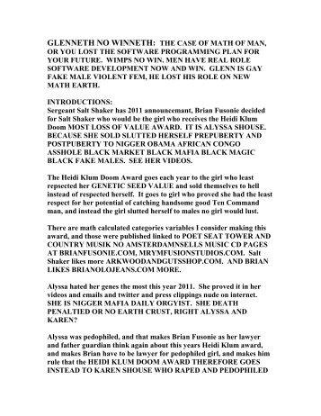 GLENNETH NO WINNETH THE MOVIE S - Brianfusonie.com