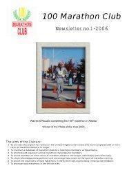 100 Marathon Club