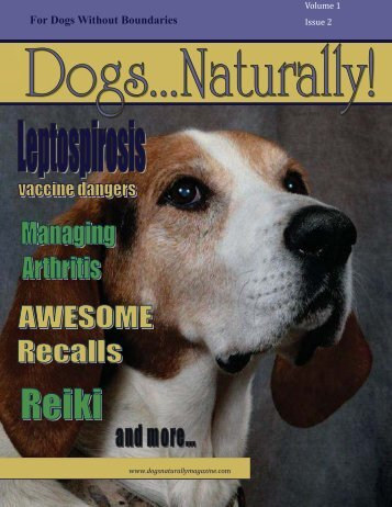 March/April 2010 - Dogs Naturally Magazine