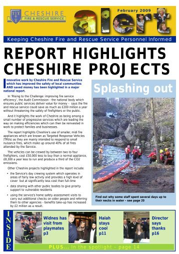 February 2009 (new window PDF 1 Mb) - Cheshire Fire Service