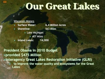 Wisconsin Department of Natural Resources - Great Lakes ...