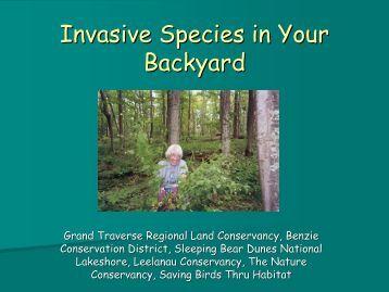 Invasive Species Network (ISN) - The Leelanau Conservancy