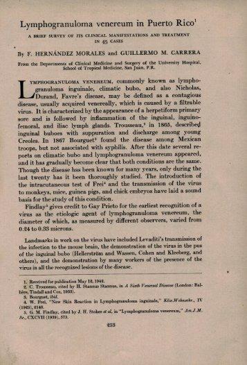 Lymphogranuloma venereum in Puerto Rico.pdf - Libraria