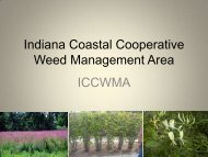 Indiana Coastal Cooperative Weed Management Area - Midwest ...