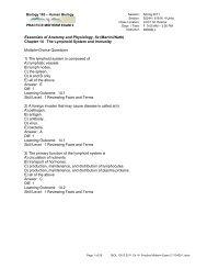 Practice Midterm Exam 2 - Napa Valley College