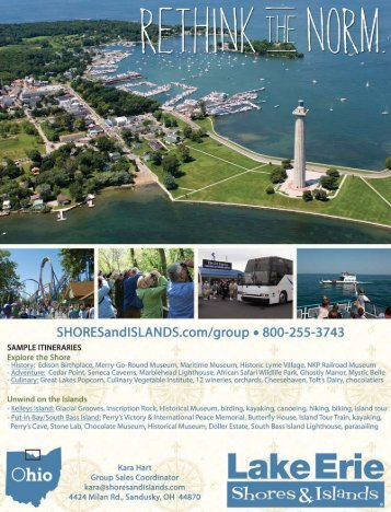 Lake Erie Shores & Islands Profile - Ohio Has It!