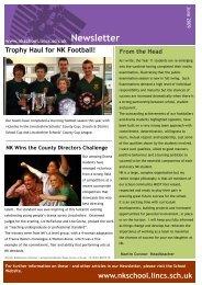June 2009 Newsletter