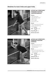 Tempimo pratimai dėl kosochondrito skausmo pdf
