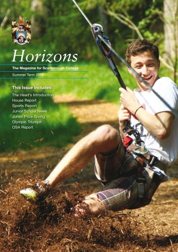 Horizons Newsletter Summer 2012 - Scarborough College