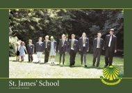to view the School Prospectus - St. James' School