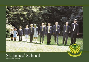 to view the School Prospectus - St. James' School