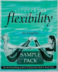 Download Stretching & Flexibility Sample Pack - Posture & Flexibility