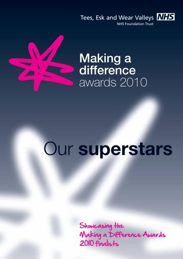 Our superstars - Tees, Esk and Wear Valleys NHS Foundation Trust