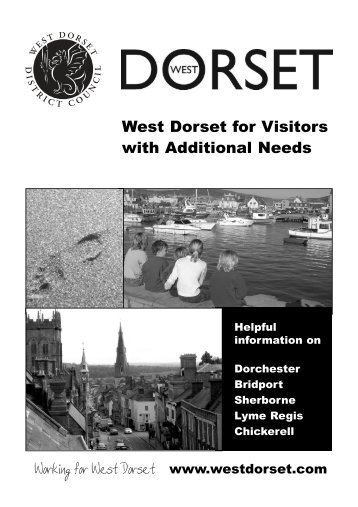 West Dorset Accessibility Guide
