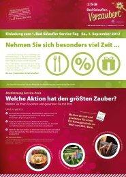 PDF-Download vom 1. Service-Tag 2012 - Bad Salzuflen