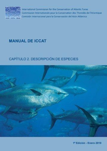 Capítulo 2. Descripción de especies - Iccat