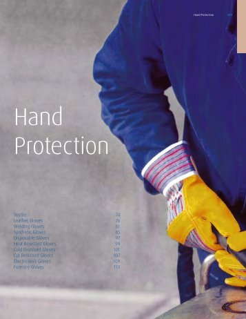 Hand Protection - Linde Canada