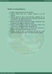 Module 3, Learning Objectives - E- courses@VTU