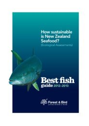 Best Fish Guide 2012-2013 - Forest and Bird